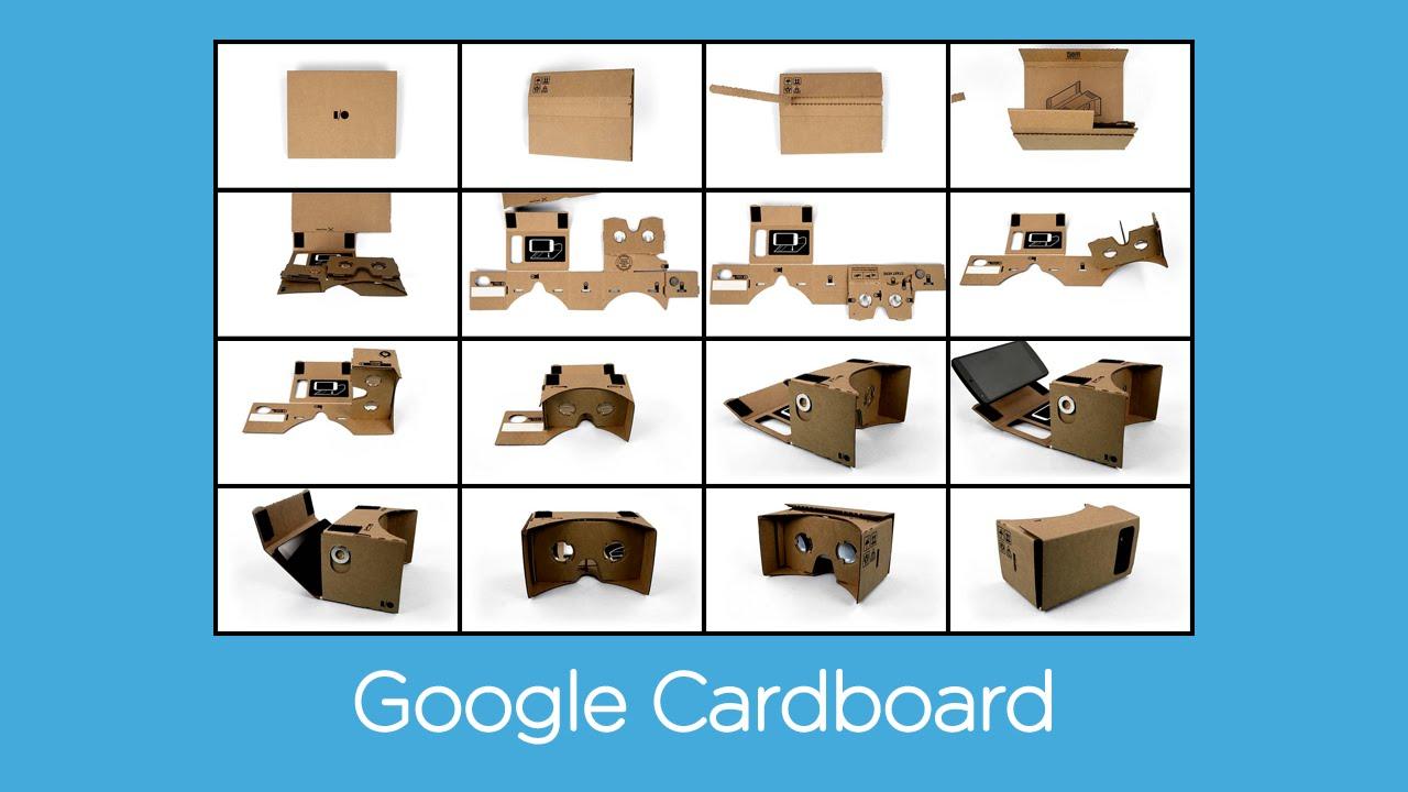 Как сделать очки виртуальной реальности из коробки