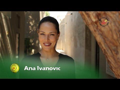 Ana Ivanovic | Dubai Full of Surprises Travel Show | Dubai Duty Free 2014
