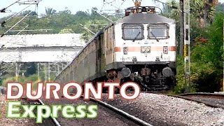 Indian Railways Secunderabad DURONTO Express !! Brings Rajdhani coaches with it !