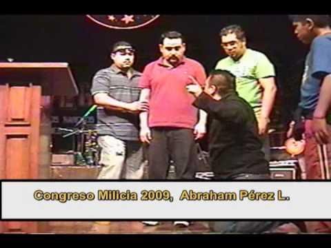Abraham Perez en el Congreso Milicia 2009 Cd. Obregón Son.