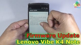 Lenvo Vibe K4 Note Firmware Update 34Mb/250Mb