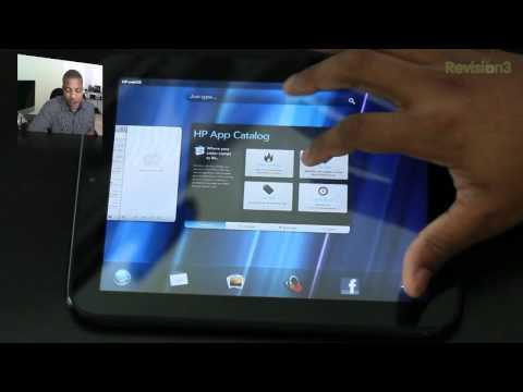 HP Touchpad: webOS Tour