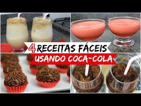 4 RECEITAS FÁCEIS USANDO COCA-COLA - Sisters Lellis