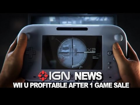 IGN News - Wii U Becomes Profitable After One Game Sale
