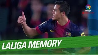 LaLiga Memory: Alexis Sanchez Best Goals and Skills