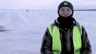 Michigan Tech Fishing Club holds annual ice fishing tournament