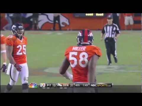 Von Miller Celebration Dances + 2012 Highlights