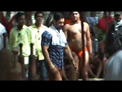 Aamir Khan Dangal Shooting - Behind The Scenes - Leaked Video Part 3