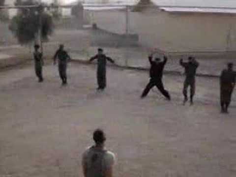 Training Afghan Forces