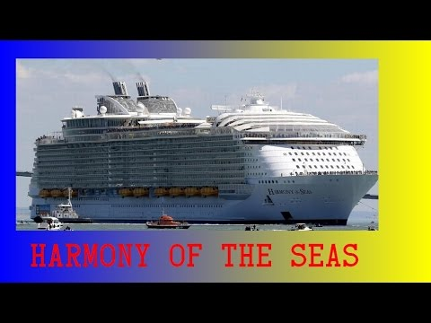HARMONY OF THE SEAS - ELABORATE SHIP TOUR - ALL HIGHLIGHTS   INCL  BUFFET