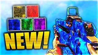 5 NEW Pack-a-Punch DLC CAMOS in Black Ops 3! (NEW DARK MATTER CUSTOM CAMOS) - BO3 NEW DLC 5 CAMOS!
