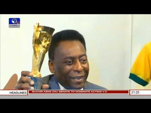 Sports Tonight: Greatest Football Legend Pele To Visit Nigeria