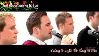 [Vietsub+Kara] The Rose - Westlife [Kerri Anne 24-11-2006]