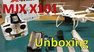 MJX X101 With Wifi FPV Unboxing, Setup, First Impressions