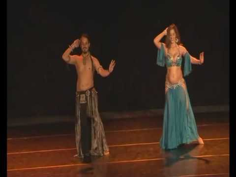 Sadie belly dance with Eliran Edri Amar - Hot Bellydance Duet...