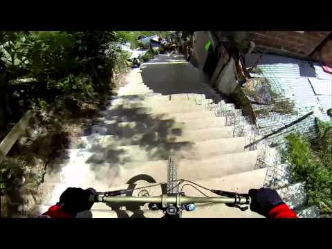 2013 POV: Mitch Ropelato - Taxco Urban Downhill Race