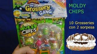 The Grossery Gang Moldy Chips Serie 2 Pack de 10