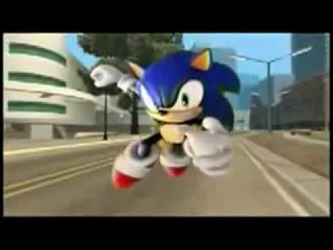 GTA San Andreas - Sonic The Hedgehog
