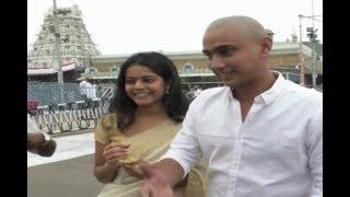 Hero Raj Tarun And Heroin Riddi Visits TTD   Tirupati