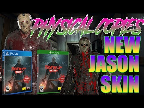 PHYSICAL COPIES Announced | BLOODY JASON SKIN | Friday the 13th: The Game