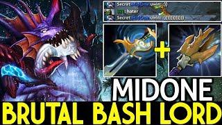 Midone [Slardar] Brutal Bash Lord 3 Hit Kill Crazy Damage 7.21 Dota 2
