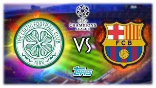 CELTIC GLASGOW - FC BARCELONA 23.11.16 | TOPPS CHAMPIONS LEAGUE ORAKEL