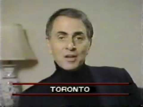 Astronomer Carl Sagan @ CBC