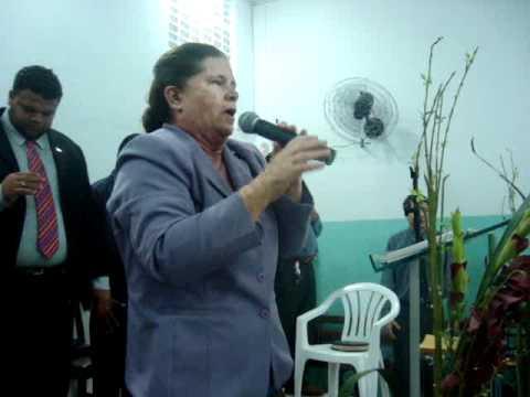 Pastora Betinha, na Glória de Deus, Parte 02.