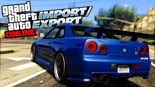 The R34 Skyline GTR is coming to GTA Online in the next update!