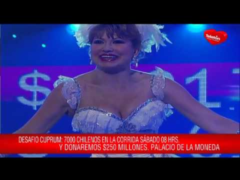 Teletón Vedeton 2012 Maripepa María José Nieto HD