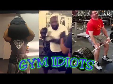 Gym Idiots - Rick Ross Boxing Workout & 647 Lb. Deadlift Fail