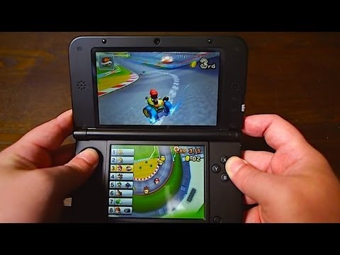 3DS XL Hands-On Review - with 3DSXL Vs 3DS & DSiXL comparison