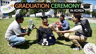 She graduated from University in Korea (HUFS) (Congratulations) ll Life in Korea