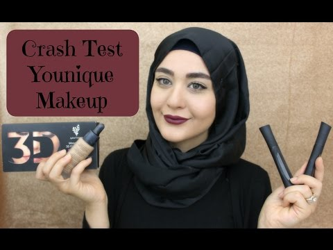 Crash Test Younique Makeup | Muslim Queens by Mona