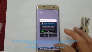 Galaxy S7 remove FRP lock Google account FREE  no OTG, no PC