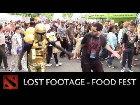 Dota 2 Lost Footage from the International - Food Fest