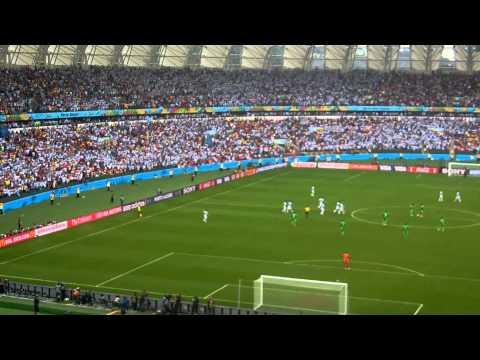 Argentina 3 - Nigeria 2 Gol de Messi de Tiro Libre