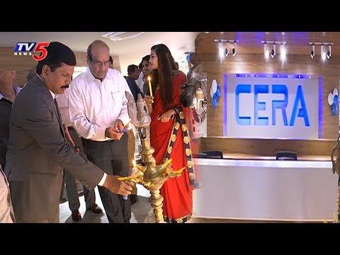 Cera Sanitaryware Showroom Launches In Hyderabad | TV5 News