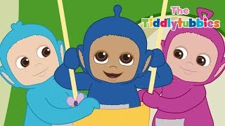 Teletubbies ★ NEUE Tiddlytubbies Kartoon Serie ★ Episode 9: Frisbee ★ Kartoon für Kinder