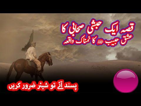 ایک صحابی کا عشق نبی ﷺ کا ایمان افروز قصہ | Ishaq e Nabi Ka Qissa thumbnail