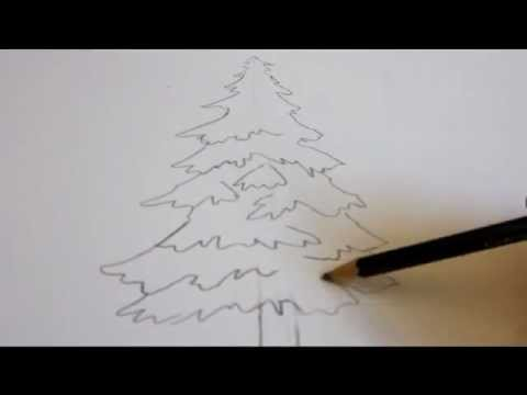 Easy Forest Tree Drawing How to Draw a Tree Draw an