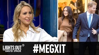 Are Harry and Meghan Moving to L.A.? (feat. Nikki Glaser) - Lights Out with David Spade