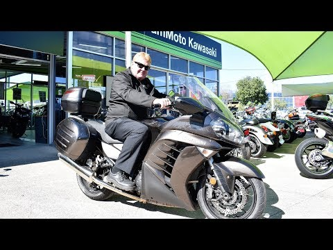 Kawasaki GTR 1400  Review With Test Ride / Complete 38000 km