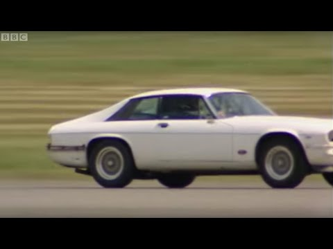 Nitrous oxide Jaguar XJS - Top Gear - BBC