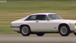 Boosting The Jaguar XJS with Nitrous Oxide | Top Gear | BBC