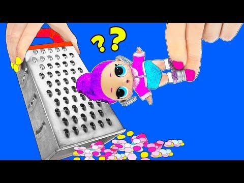 13 НЕВЕРОЯТНО КРУТЫХ ЛАЙФХАКА с КУКЛАМИ ЛОЛ Сюрприз! Мультик LOL Surprise toy SCHOOL LIFE HACKS