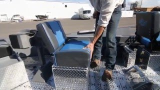 Pavati Marine Video: Standard Row Seat