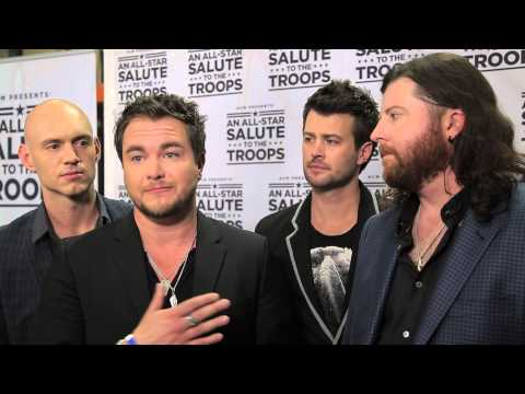 ACM Presents An AllStar Salute to the Troops Preview  Eli Young Band