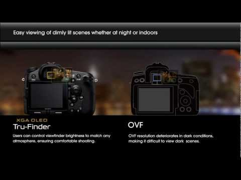 Sony Alpha - Tru Finder (EVF) vs. Traditional (OVF)