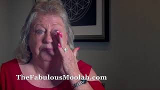 """Glamour Girl"" Judy Martin breaks down discussing The Fabulous Moolah"